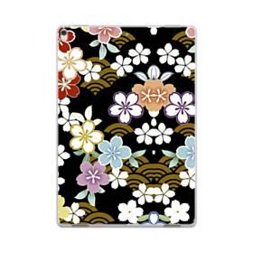 和風・桜&浪 iPad Pro 10.5 (2017) ポリカーボネート ハードケース