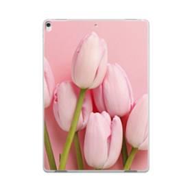 ピンク&ピンク iPad Pro 10.5 (2017) TPU クリアケース
