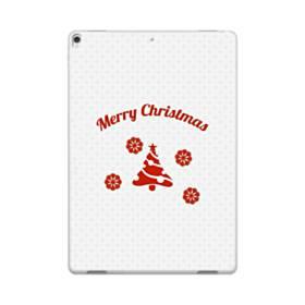 メリー クリスマス デザイン ツリー iPad Pro 10.5 (2017) TPU クリアケース