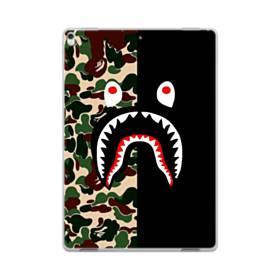 シュプリーム  カモフラージュ&ブラック模様 iPad Pro 10.5 (2017) TPU クリアケース