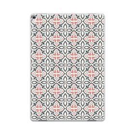 モザイクタイルのようなアートなパターン iPad Pro 10.5 (2017) TPU クリアケース