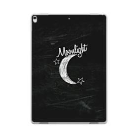 デザイン アルファベット010 moonlight iPad Pro 10.5 (2017) TPU クリアケース