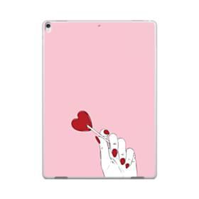 指とハート iPad Pro 12.9 (2017) ポリカーボネート ハードケース