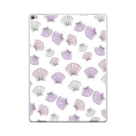 アジサイ色の貝殻のモチーフ iPad Pro 12.9 (2017) ポリカーボネート ハードケース