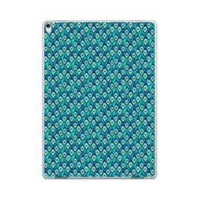 抽象的なクジャクの羽のパターン iPad Pro 12.9 (2017) ポリカーボネート ハードケース