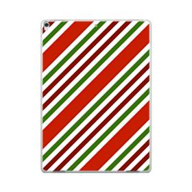 メリー クリスマス ストライプ パターン iPad Pro 12.9 (2017) ポリカーボネート ハードケース