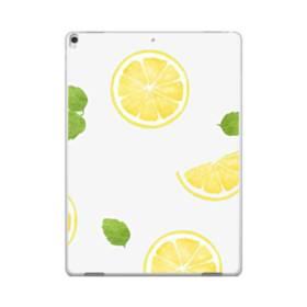 ザ・果物(レモン)のパターン iPad Pro 12.9 (2017) ポリカーボネート ハードケース