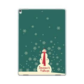 メリー クリスマス 雪だるま iPad Pro 12.9 (2017) ポリカーボネート ハードケース