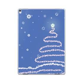 デザイン クリスマス ツリー ブル系 iPad Pro 12.9 (2017) ポリカーボネート ハードケース