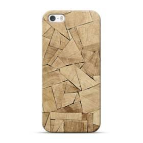 積み木のアート iPhone 5S, 5 ポリカーボネート ハードケース