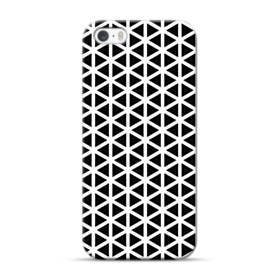 アートな白黒系モチーフ② iPhone 5S, 5 ポリカーボネート ハードケース