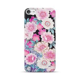 和の花柄 iPod Touch 5 ポリカーボネート ハードケース