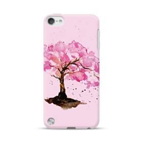 水彩画・桜の木 iPod Touch 5 ポリカーボネート ハードケース