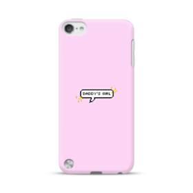 デザイン・アルファベット:daddy's girl iPod Touch 5 ポリカーボネート ハードケース