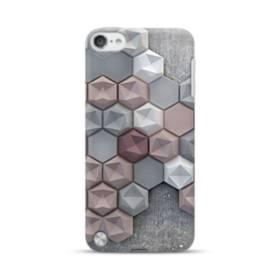 つぶつぶ六角形 iPod Touch 5 ポリカーボネート ハードケース