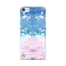 桜の花びら iPod Touch 5 ポリカーボネート ハードケース