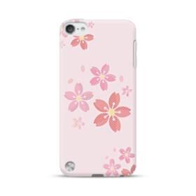 春・桜の花001 iPod Touch 5 ポリカーボネート ハードケース