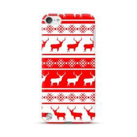 北欧風クリスマス モチーフ iPod Touch 5 ポリカーボネート ハードケース