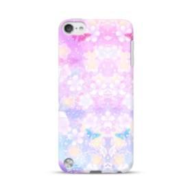 爛漫・抽象的な桜の花 iPod Touch 5 ポリカーボネート ハードケース