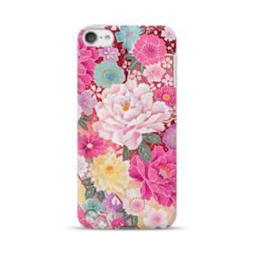 和の花柄:牡丹 iPod Touch 5 ポリカーボネート ハードケース