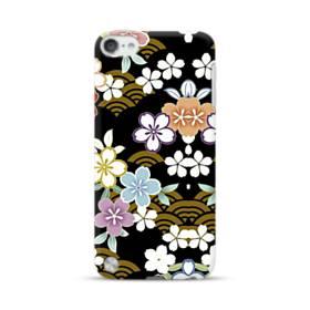和風・桜&浪 iPod Touch 5 ポリカーボネート ハードケース