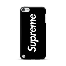ニューヨークよりブラック・スーパー・ミ(super me) iPod Touch 5 ポリカーボネート ハードケース