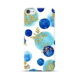 クリスマス 雪の結晶・モチーフ iPod Touch 5 ポリカーボネート ハードケース