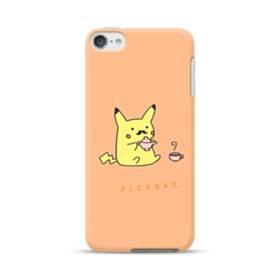 可愛いpeeeeekatyu(ピカチュウ) iPod Touch 6 ポリカーボネート ハードケース