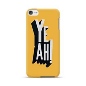 デザイン アルファベット:yeah iPod Touch 6 ポリカーボネート ハードケース