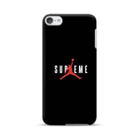 ブラック バスケットボール red  simple  ワンポイント シンプル iPod Touch 6 ポリカーボネート ハードケース