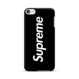 ニューヨークよりブラック・スーパー・ミ(super me) iPod Touch 6 ポリカーボネート ハードケース