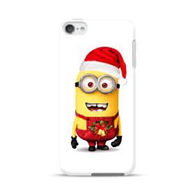 メリー クリスマス キュートなミニオンズ iPod Touch 6 ポリカーボネート ハードケース
