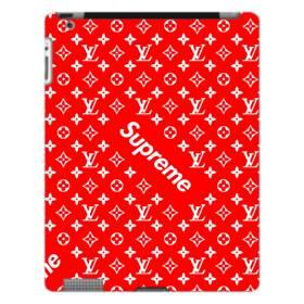 ルイ・ヴィトン&シュプリーム赤バージョン) iPad 4/3/2 ポリカーボネート ハードケース
