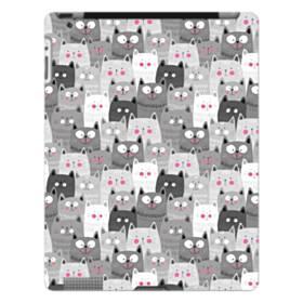 多くの子猫 iPad 4/3/2 ポリカーボネート ハードケース