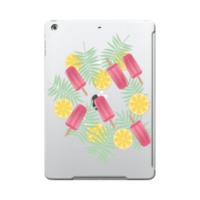 アイスバー&レモン iPad 9.7 (2017) ポリカーボネート ハードケース