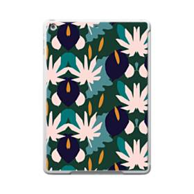 暖かい色系のアートなパターン iPad 9.7 (2017) ポリカーボネート ハードケース