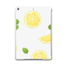 ザ・果物(レモン)のパターン iPad 9.7 (2017) ポリカーボネート ハードケース