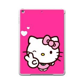 永遠に可愛い!キティちゃん iPad 9.7 (2017) ポリカーボネート ハードケース