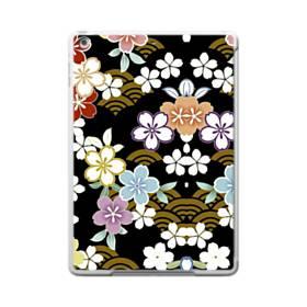 和風・桜&浪 iPad 9.7 (2017) ポリカーボネート ハードケース
