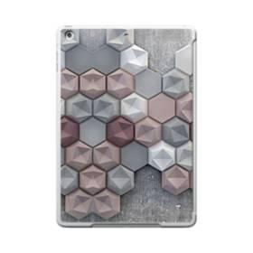 つぶつぶ六角形 iPad 9.7 (2017) TPU クリアケース