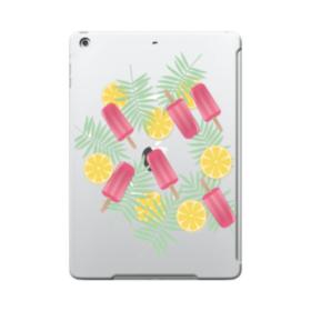 アイスバー&レモン iPad 9.7 (2017) TPU クリアケース