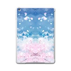 桜の花びら iPad 9.7 (2017) TPU クリアケース