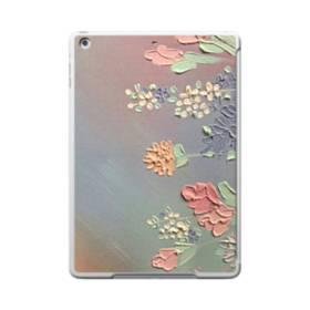 art フラワー 油絵 花 flower アート iPad 9.7 (2017) TPU クリアケース