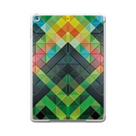 抽象的なモザイクパターン iPad 9.7 (2017) TPU クリアケース