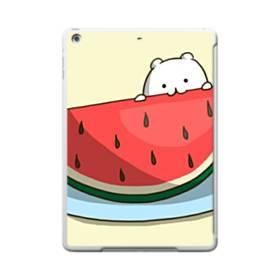 可愛い・ザ・スイカ iPad 9.7 (2017) TPU クリアケース