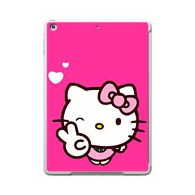 永遠に可愛い!キティちゃん iPad 9.7 (2017) TPU クリアケース
