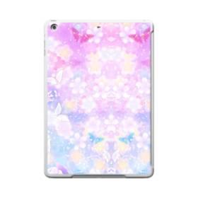 爛漫・抽象的な桜の花 iPad 9.7 (2017) TPU クリアケース