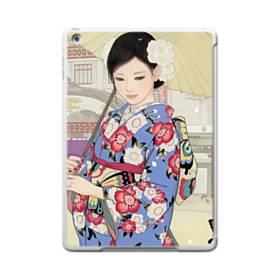 こんにちは、ジャパンガール! iPad 9.7 (2017) TPU クリアケース