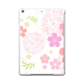 桜の形・いろいろ iPad 9.7 (2017) TPU クリアケース