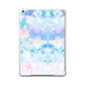 爛漫桜の花 iPad 9.7 (2017) TPU クリアケース